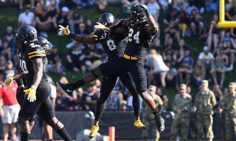 Appalachian State Earns First CFP Ranking in Football History