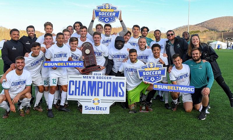 Coastal Carolina Wins Sun Belt Men's Soccer Championship on Penalty Kicks