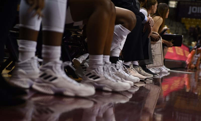 Basketball Programs Take Part in Coaches vs. Cancer Suits and Sneakers Week