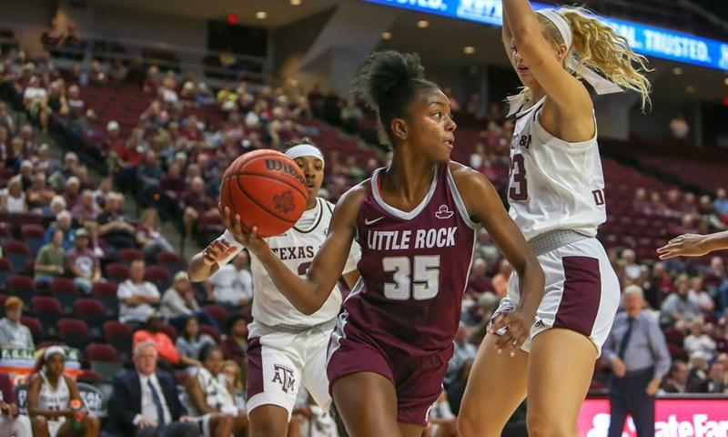 Little Rock's Battle Wins Women's Basketball Player of the Week Honor